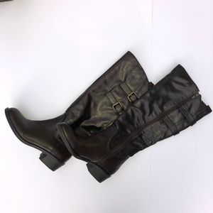 Style & Co Chocolate Brown Knee High Boots